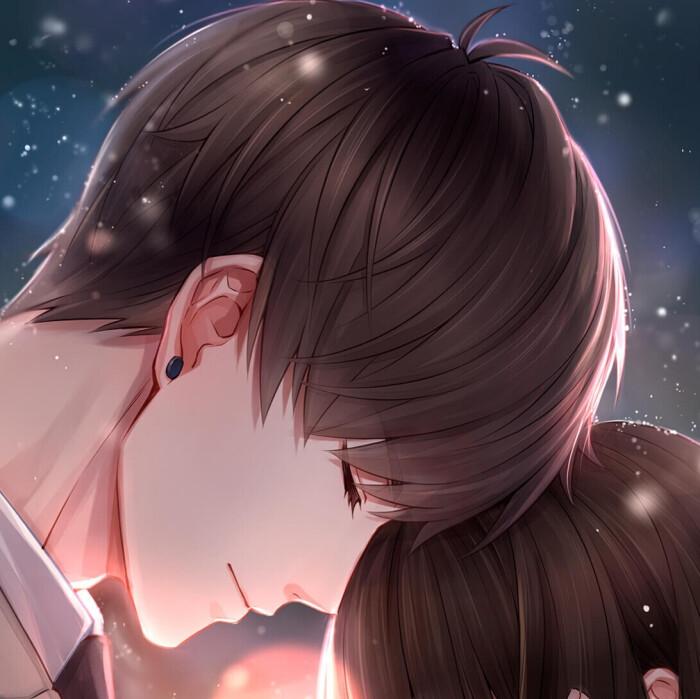 情侣头像动漫